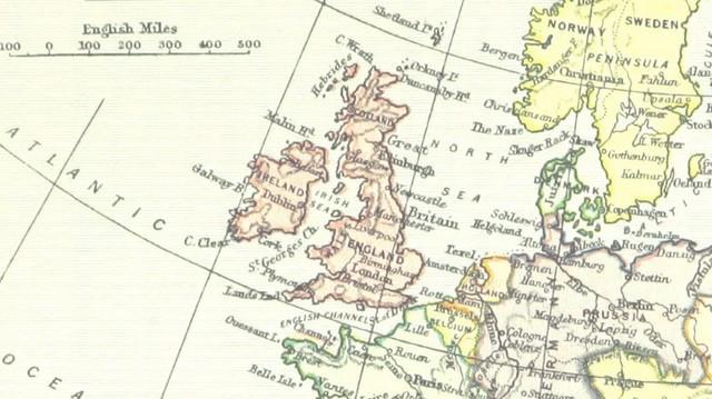 Az Egyesült Királyság tagjai közül, melyik nem ugyanazon a szigeten található?