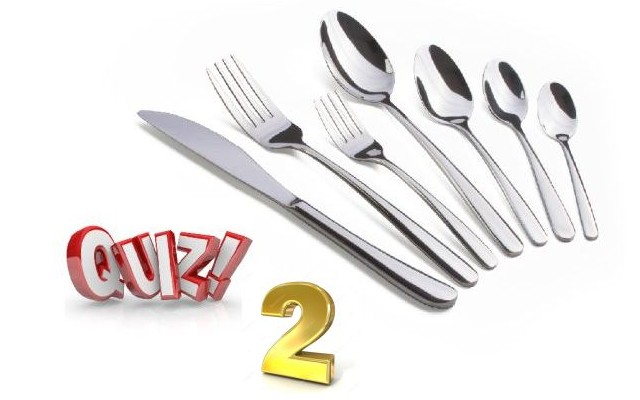 Gourmet Quiz 2
