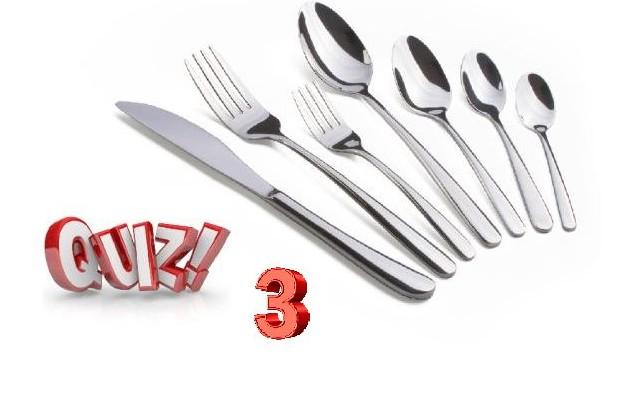 Gourmet Quiz 3