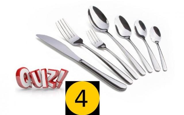 Gourmet Quiz 4