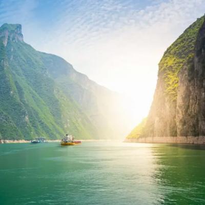 Cháng Jiāng (Jangce) avagy a Kék folyó, Kína