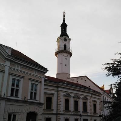 Ez a soproni tűztorony.