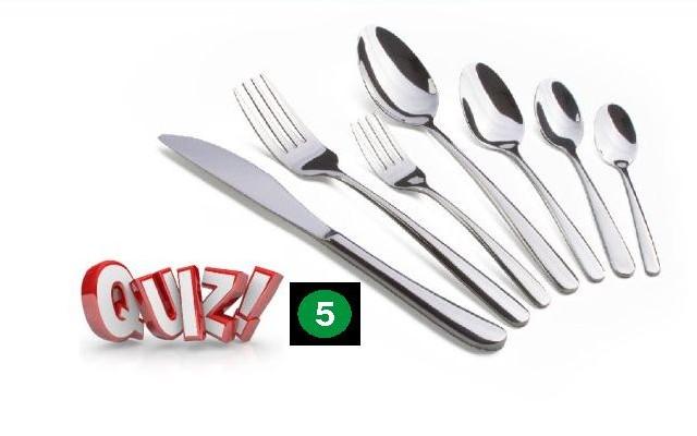 Gourmet Quiz 5.