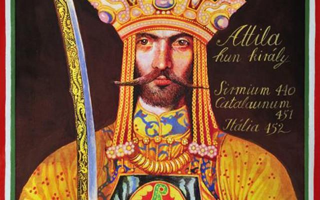 Hogyan halt meg Attila a magyarok királya az Isten ostora?