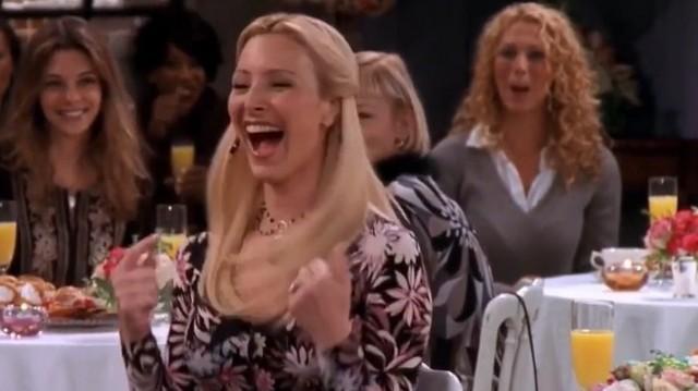 Phoebe leánybúcsúztató partiján, ő volt a jóképű sztriptíztáncos: