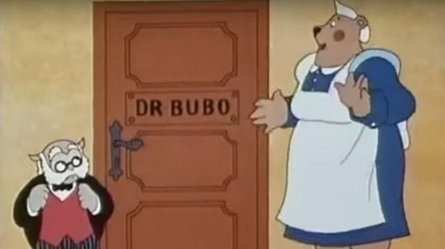 Hogy hívják Dr. Bubó asszisztensét?