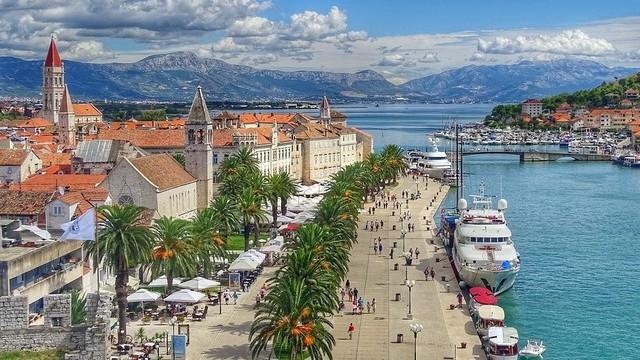Melyik horvát tengerparti városban készült ez a kép?