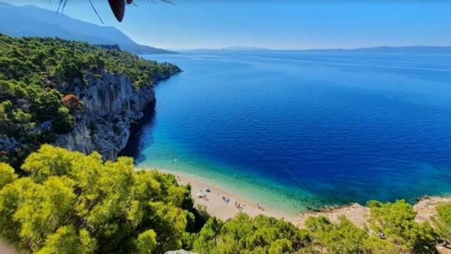 Melyik horvátországi nyaralóhelyen készült ez a kép?