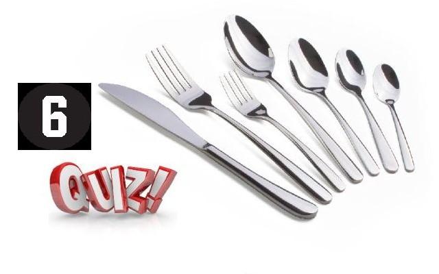 Gourmet Quiz 6