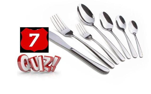 Gourmet Quiz 7.