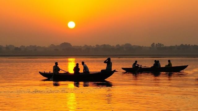 A hinduk szent folyója.