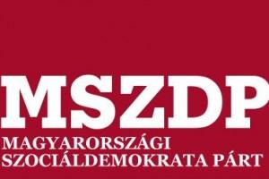 MSZDP - MAGYARORSZAGI SZOCIÁLDEMOKRATA PÁRT