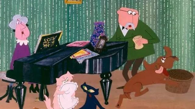 Milyen fajta kutya Frakk; Frakk, a macskák réme című sorozatból?