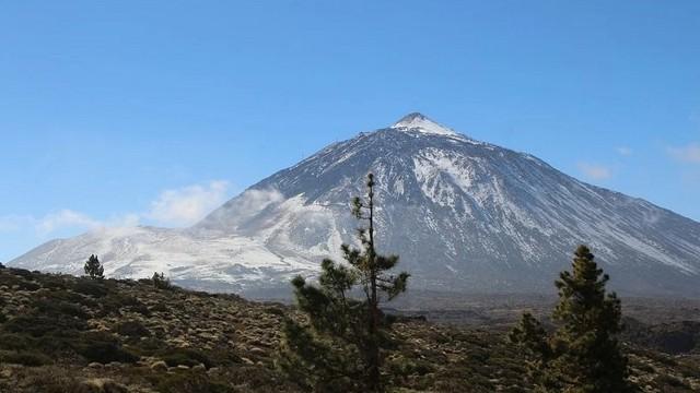Hol található a Teide vulkán?