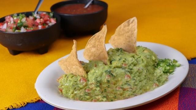A guacamole alapanyagául szolgáló gyümölcs.